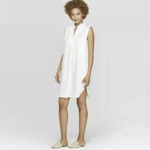 Prologue Women Sleeveless Deep V-Neck Tunic Dress